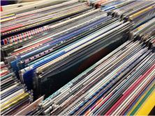 レコードのコレクション