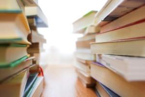 本棚の本のお世話