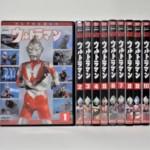 ウルトラマン DVD 全10巻セットをお譲りいただきました。