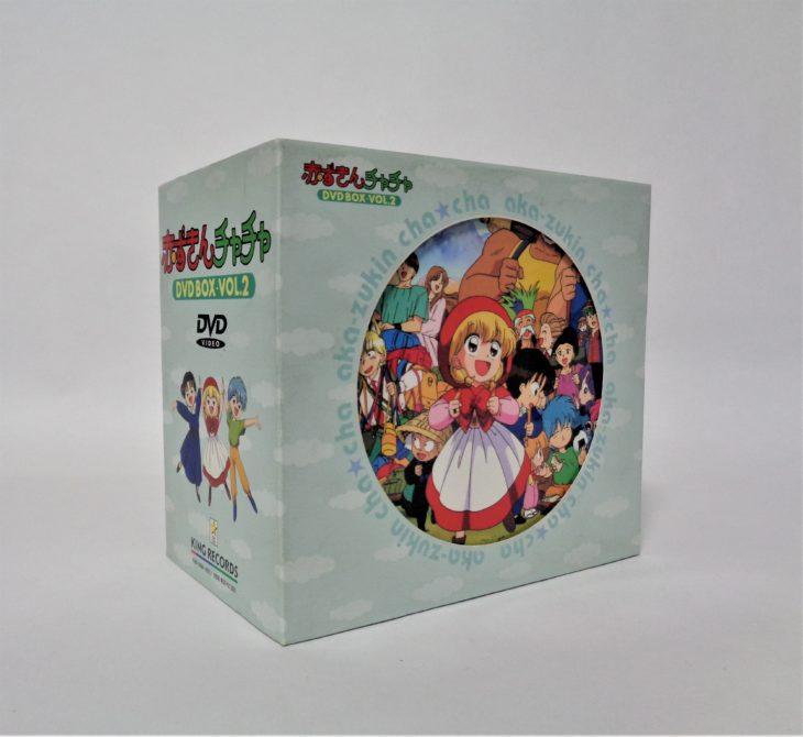 赤ずきんチャチャ DVD-BOXを買取しました。さいたま市西区
