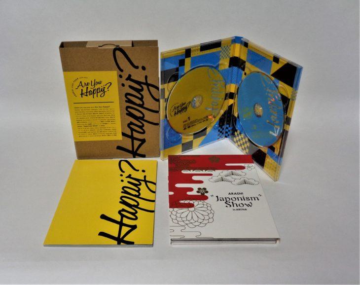 群馬県高崎市のお客様より、ジャニーズ 嵐 DVD・CDを宅配買取しました。