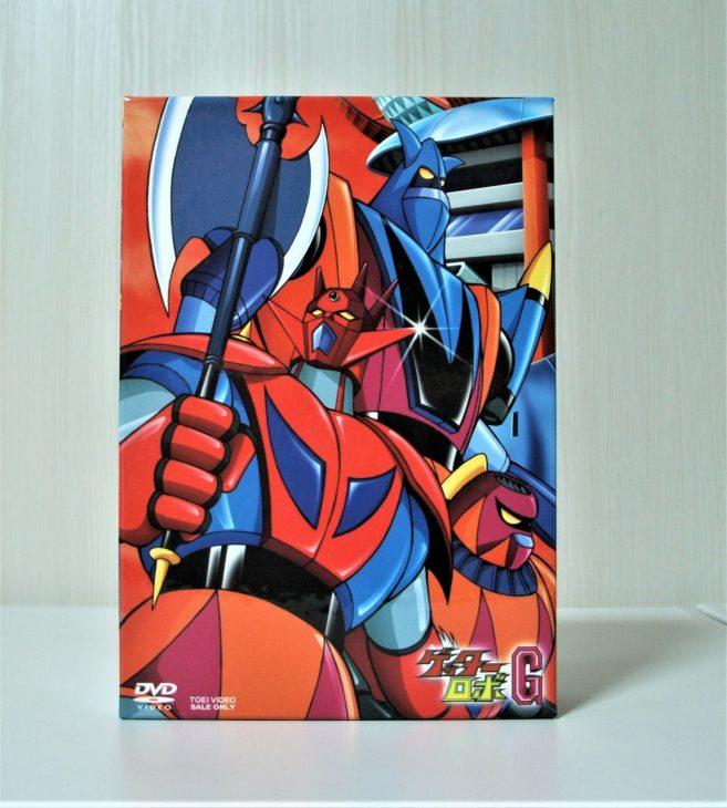 東京都世田谷区 ゲッターロボ DVD-BOXを宅配買取しました。