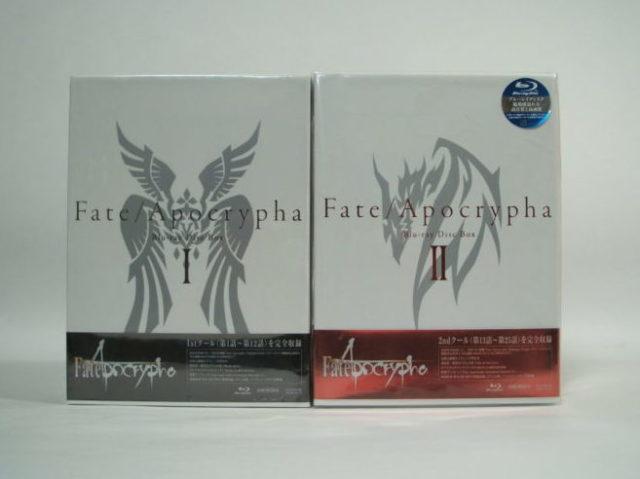 Fate Apocrypha Blu-ray-Boxをお譲りいただきました。