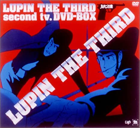 LUPIN THE THIRD second tv,DVD-BOX