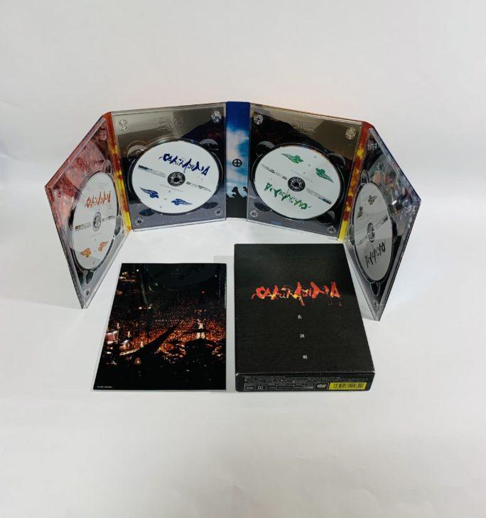 神奈川県川崎市 長渕剛 桜島SAKURAJIMA DVD-BOXを宅配買取しました。