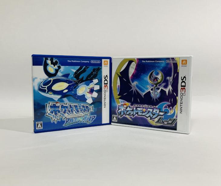 愛知県名古屋市 ゲームソフトを150点宅配買取しました。3DSポケットモンスター他