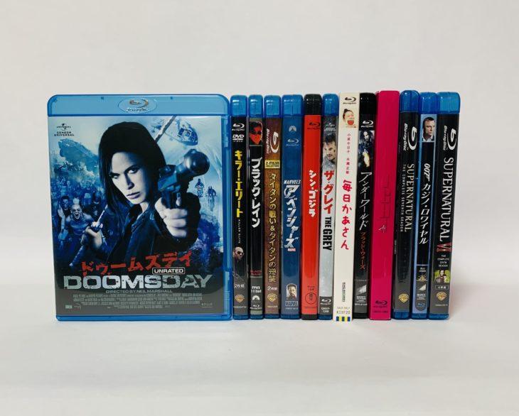 埼玉県戸田市 Blu-ray・DVD・書籍・漫画 約2000点出張買取に伺いました。
