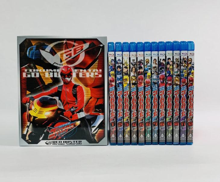 Blu-ray 特命戦隊ゴーバスターズ 全巻セット 埼玉県富士見市へ出張買取に行ってきました。