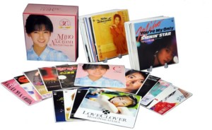 中山美穂 30th Anniversary THE PERFECT SINGLES BOX(DVD付) CD+DVD Limited Edition