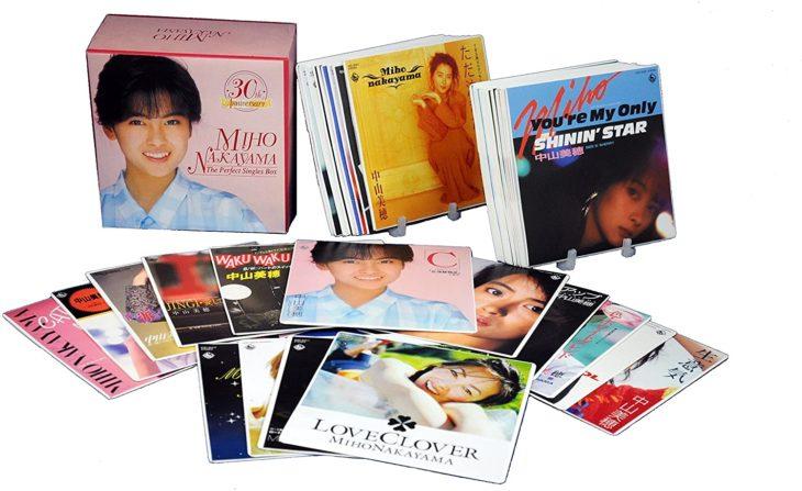 中山美穂 30th Anniversary THE PERFECT SINGLES BOX(DVD付) CD+DVD Limited Edition