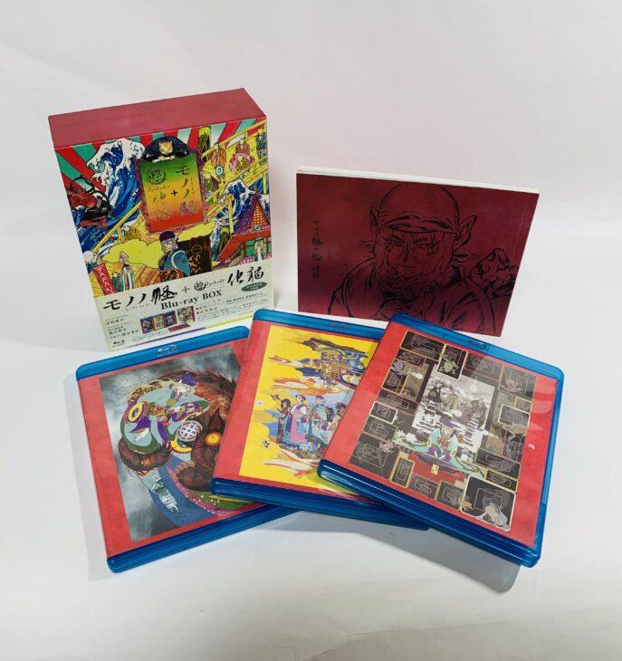 モノノ怪+怪~ayakashi~化猫 Blu-ray-BOX 他、アニメDVD 群馬県前橋市 より宅配買取しました。