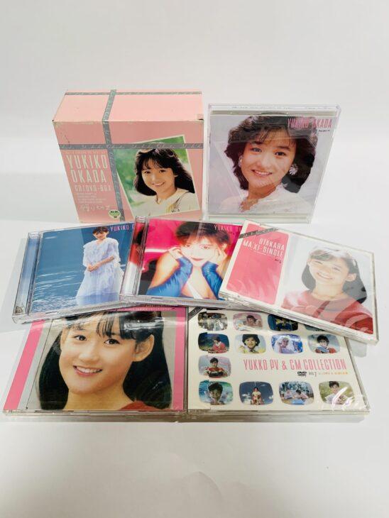 大阪府大阪市 岡田有希子・贈りものCD・DVD-BOX 、大場久美子・コメットさん DVDを宅配買取しました。