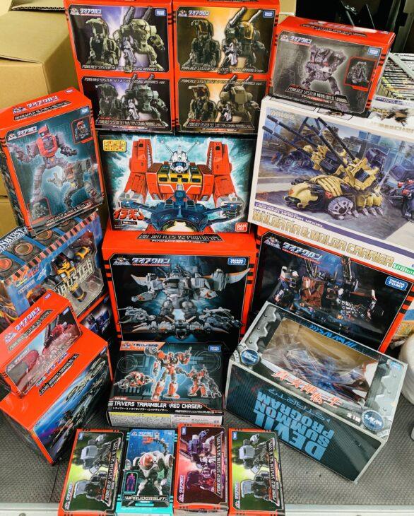 さいたま市南区へダイアクロン・フィギュア、DVD、ゲームソフト、コミックを出張買取に行ってきました。