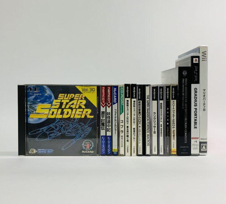 埼玉県さいたま市北区 PCエンジン・セガサターン・DSなどのゲームソフトを約300点お譲りいただきました。
