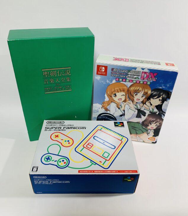 埼玉県久喜市菖蒲町 ゲーム・フィギュア・DVD・Blu-ray・CD・コミック・書籍を大量買取しました。