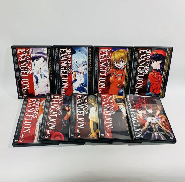 大阪府堺市 「新世紀エヴァンゲリオン」DVD他、トランスフォーマーを宅配買取しました。