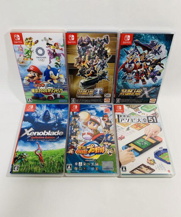 埼玉県さいたま市岩槻区 任天堂スイッチソフト・DVD・プラモデル・コミックを出張買取しました。