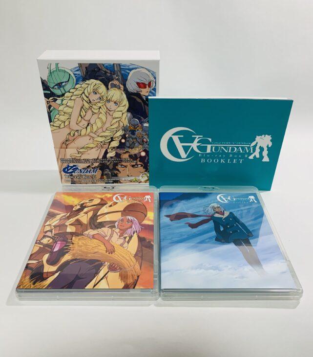 京都府京都市 ∀ガンダム Blu-ray-Box Ⅰ・Ⅱ他、プラモデルを宅配買取しました。
