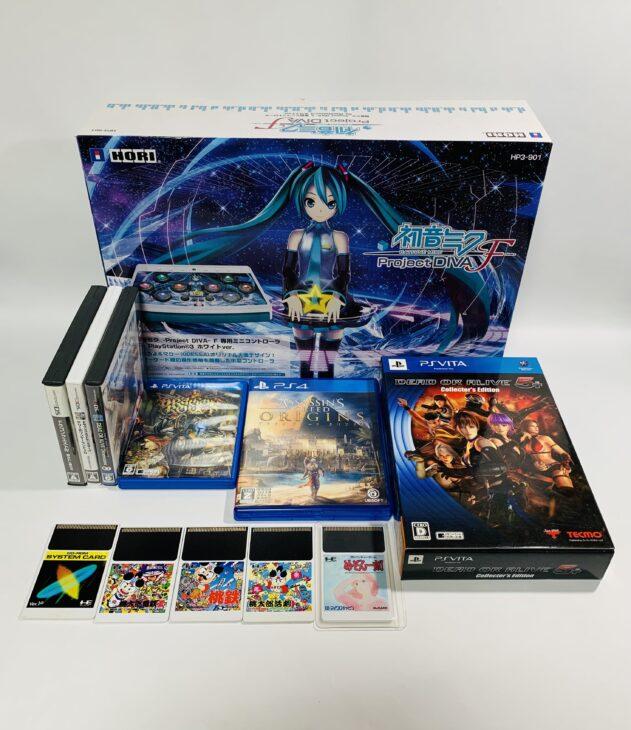 ゲーム・フィギュア・Blu-ray・書籍を埼玉県春日部市へ出張に伺いました。
