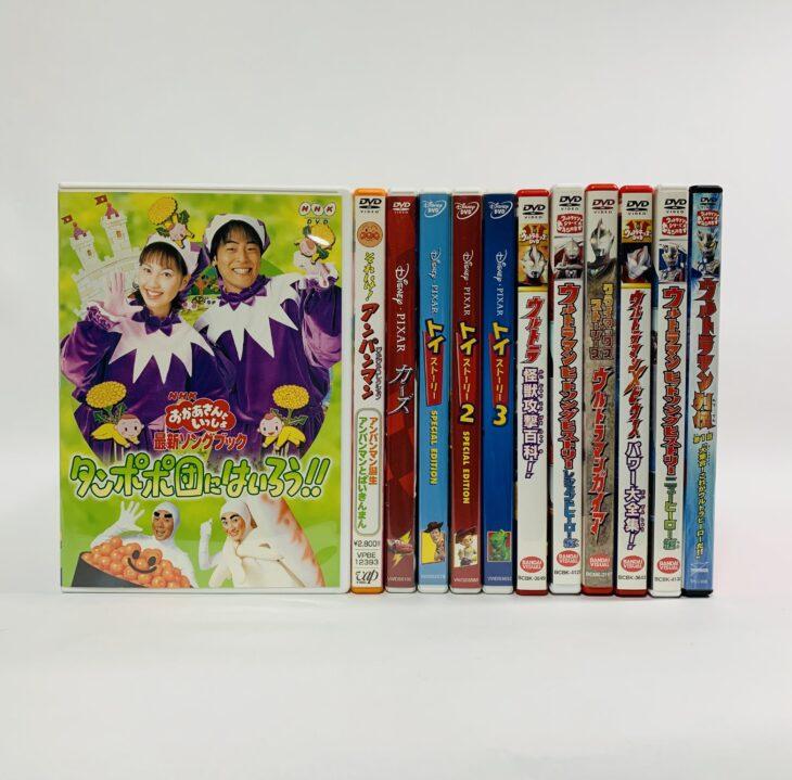 埼玉県草加市 DVD・CD・学習まんが日本の歴史・書籍・オモチャを出張買取しました。