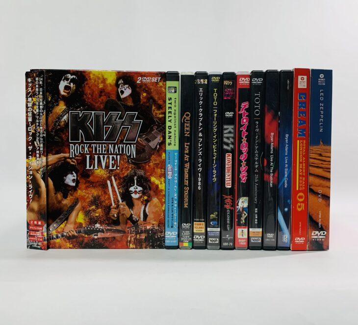 埼玉県鴻巣市 音楽DVD「KISS Rock the Nation: Live」他、CDを出張買取しました。